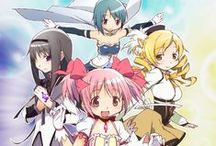Puella magi madoka magica!! / Don't forget:always,somewhere, is  fighting for you. As long as you remember her,you're never alone.