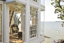 Custom Windows / Beautiful, big windows are our favorite. Let the light in!