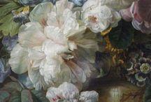Dark florals / Inspiring dark, rich florals.