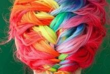 Colors hair♡✌ / They are beutyfull