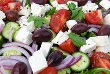 salade / toute sorte de salade