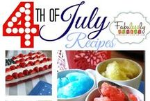 Holidays-- Independence Day-- 4th of July -- Kentucky at Heart / Independence Day, 4th of July Recipes, Decor, Crafts and Party Ideas