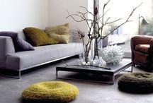 Interiors / Interior living spaces