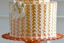 """cake inspirations - not ours / Sometimes you look at a cake and thing, """"I wish we made that!"""" Hopefully we can incorporate these designs into our future work."""