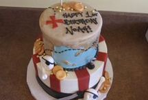creative birthday cakes / We can make a fabulous birthday cake for any budget. Here are some of our favorite designs.