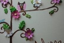 FLOWERS CRAFTS / TUTORIAL PAPER FLOWER