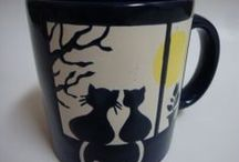 Crazy About Coffee Cups / Coffee Cups with Pictures, Sayings & Designs that I Like!
