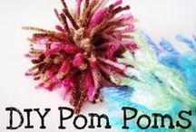 DIY - Pom Pom - Pompón / #PomPom #Pompón / by Monica Osorio