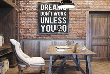 Industrial Style / Collection of industrial furniture and spaces