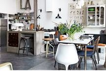 Kitchens / Great kitchen spaces which have elements in them which I love