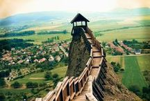 Hongarije; burchten en landhuizen / Kastelen, burchten en landhuizen in Hongarije.
