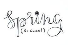 Spring ♥ / voorjaar/lente