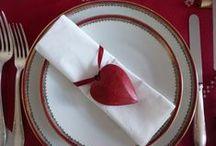 Saint valentin / Décoration de table, idées cadeaux