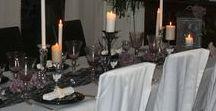 Halloween / Déco de table, ambiance, recettes pour Halloween