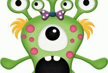 8b Monster feest / Monsterfeest groep 8