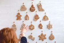 Déco de Noel | Calendrier de l'avent / Découvrez comment fabriquer un calendrier de l'avent original soi-même