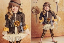 Little Girls Sugar and Spice Fashion / by Nancy Rozof