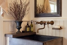 Bathroom Inspiration / Bathrooms are one of the essential rooms in your house. A beautiful guest bathroom will have your guests wondering how you created it, while a functional master bathroom will become the retreat you look forward to after a long day. / by Remodelr