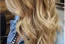 Hair / Hair colors, cuts and styles