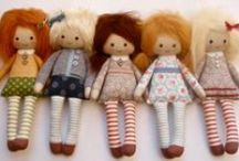 Dolls - Tutorials and Inspirations for all things Dolly / by Kayleen Dreadfairy