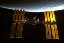 The International Space Station / Orbiting Earth for 15 years.