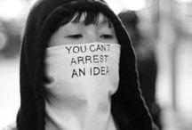 - P O L I T I K - / Ideas are bulletproof.  / by K r i s t i n e