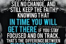 Fitness Quotes / Fitness quotes, inspiration and motivation