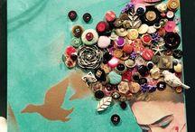 Deliberate Messing Board / Art, schmutz and mess by Tiffany Markman