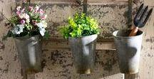 Garden Accents / Vases & Jars, Terrariums, Faux Plants & Planters, Outdoor Accessories, Outdoor Furniture