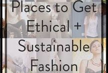 Ethical Shopping / This is a collection of companies and products that are Fair Trade, Eco-Friendly, and/or Cruelty Free. I'm trying to be a more conscientious shopper.
