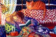 book cat tea