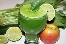 Green Juices / Our favorite GREEN fruit and veggie juices from rebootwithjoe.com / by Reboot with Joe