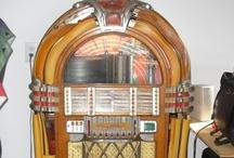 Oldies / Jukeboxes, Cigarette Machine, Slot Machines, other vintage stuff