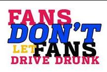 NHTSA's Fans Don't Let Fans Drive Drunk