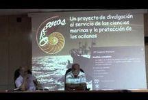 """Ciencia Compartida / Ciclos de conferencias que surge como una iniciativa que parte de varios jóvenes investigadores vinculados a la Facultad de Ciencias del Mar y a los grupos de investigación de los Departamentos, Centros e Institutos de investigación del área. Pueden obtener más información en el Blog de la Biblioteca de Ciencias Básicas """"Carlos Bas"""" http://bibwp.ulpgc.es/carlosbas.  (Chrome rec.)"""