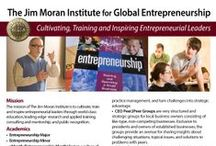The Jim Moran Institute for Global Entrepreneurship / The mission of The Jim Moran Institute is to cultivate, train and inspire entrepreneurial leaders through world-class   education, leading-edge research and applied training, consulting and mentorship, and public recognition.