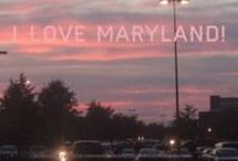 I LOVE Maryland! / Please repin to show your Maryland pride. Please feel free to follow us on Facebook as well!