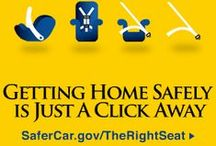 The Right Seat - Car Seat Safety / Buckle up! To make sure your child is in the right seat please visit http://www.safercar.gov/therightseat