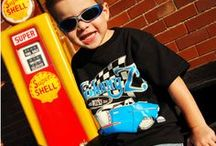 HOT ROD T-SHIRTS FOR KIDS