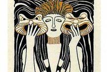 art nouveau / art nouveau, moderne, jugendstil, fin de siècle, secessionsstil, nieuwe kunst, style sapin