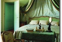 Bedroom decor - GREEN / Bedroom decor in the colour green Inspiration images