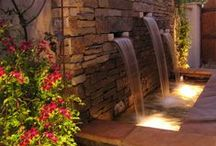 Landscape Lighting / With the installation of our lighting systems, we offer both zoning and dimming capabilities that provide virtually limitless design possibilities. Zoning allows lights to be programmed into preset vignettes, which can be activated for special occasions such as parties, or activities such as barbecuing.