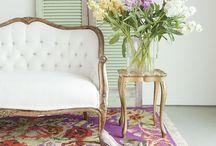 Bedroom boudoir chair