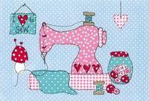 needlework = sewingmachine / by Ambiance- Elizabeth