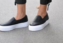 Comfy stylin shoes / Converse, loafers, flats, platforms