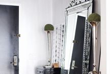 Mirror mirror on the wall / loving ornate mirrors that bohemian look is my favourite and 1920s