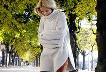 Big chunky sweater look / Knits