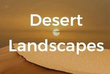 Desert landscapes / Desert lands are quite hypnotic and fascinating don't you think? Like all other landscapes every one of them is special