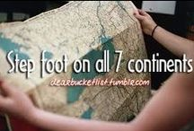 Bucket list - traveling