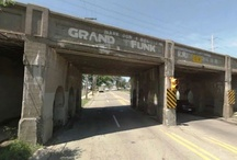 Grand Funk Railroad Bridge, Flint Michigan / 2334 Fenton Road, Flint, Michigan, 48507 USA, Grand Trunk Railway